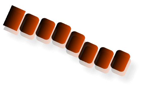 ムカデのデザイン